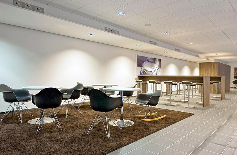Mercedes-Benz PKW NDL Nürnberg – Café | Galerie