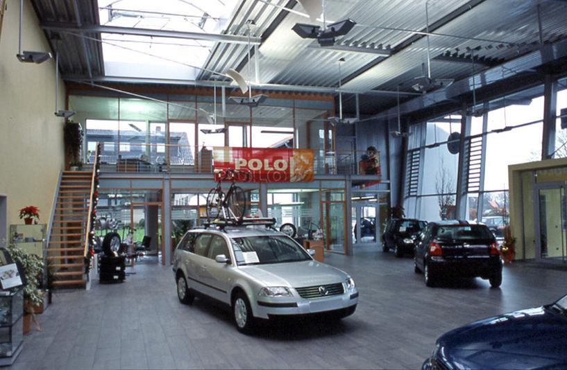 VW Meier - Innenansicht der Galerie