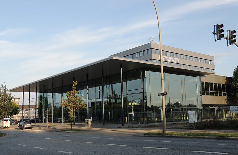 Mercedes-Benz NDL Hamburg – Außenansicht
