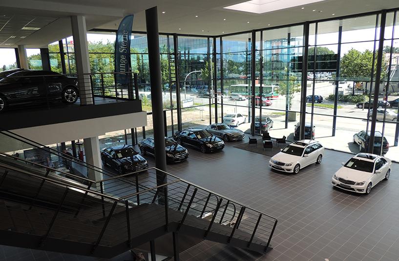 Mercedes-Benz NDL Hamburg – Showroom