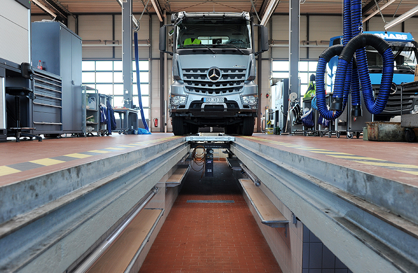 Mercedes-Benz NFZ-Zentrum Kassel – Werkstatt