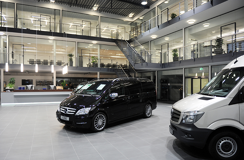 Mercedes-Benz NFZ-Zentrum Kassel – Showroom