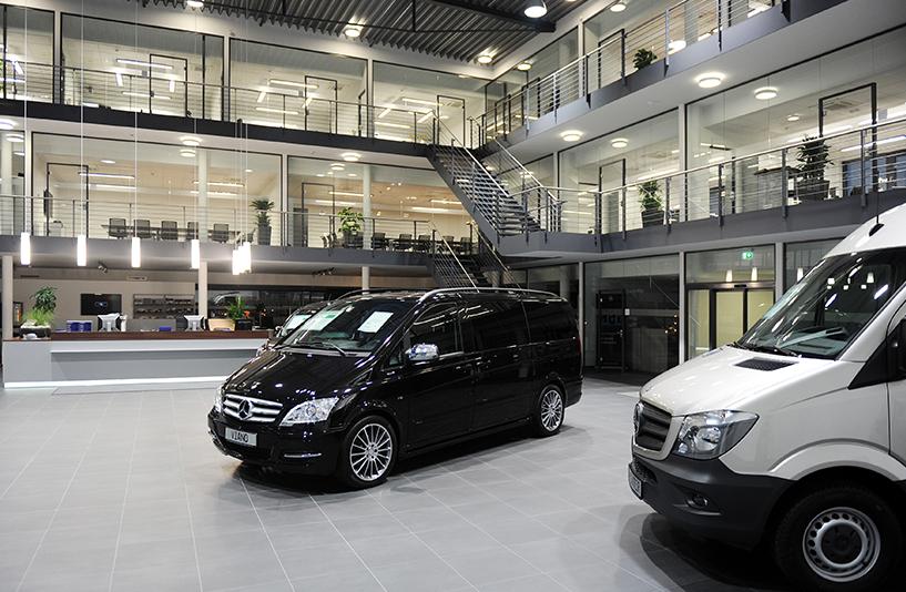 Mercedes-Benz NFZ-Zentrum Kassel – Showroom