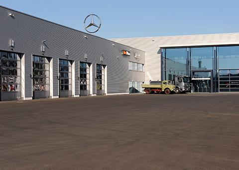 Mercedes-Benz NFZ-Zentrum Kassel