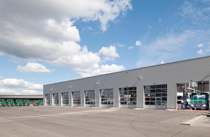 Mercedes-Benz NFZ-Zentrum Berlin – Außenansicht