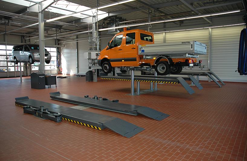 Mercedes-Benz NFZ-Zentrum Eschweiler – Werkstatt