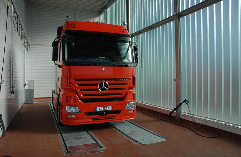 Mercedes-Benz NFZ-Zentrum Eschweiler – Waschanlage