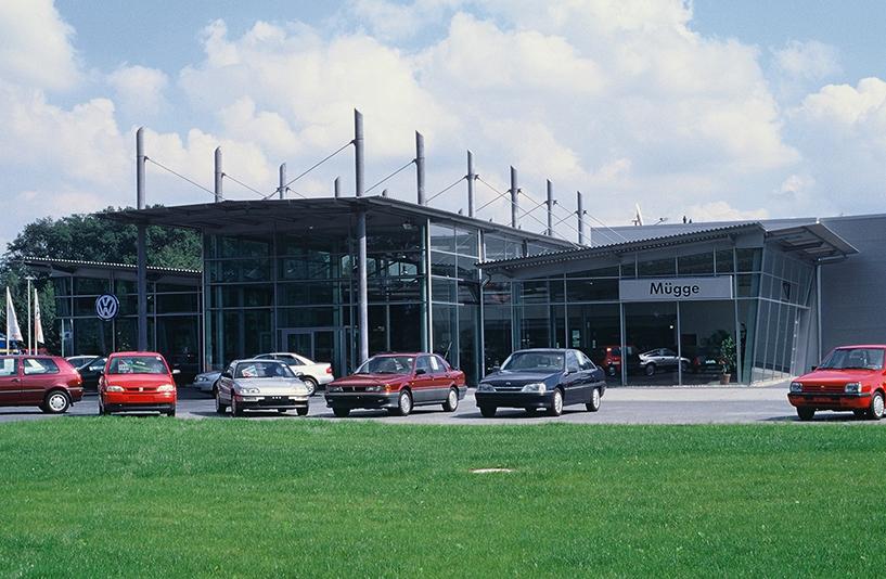 VW Mügge - Gläserne Front