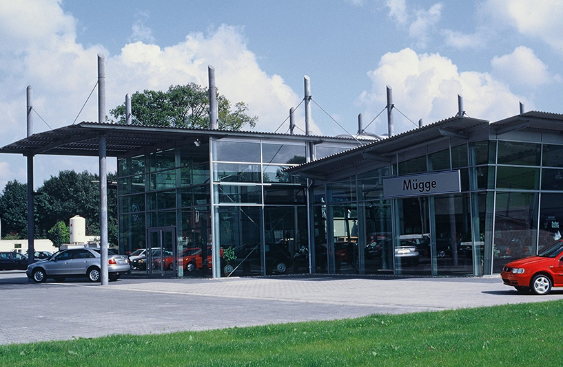 VW Mügge - Eingangsbereich