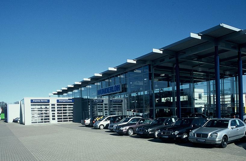 Mercedes-Benz Munderloh – Außenansicht