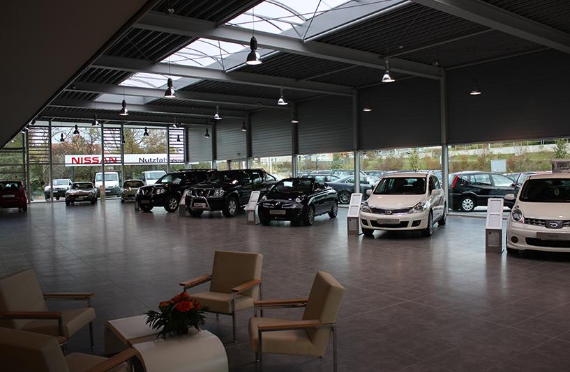 Autozentrum Walter | Nissan – Showroom
