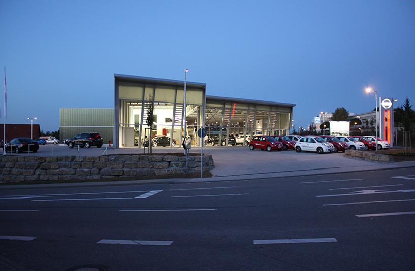 Autozentrum Walter | Nissan – Außenansicht