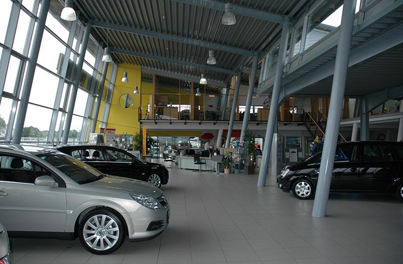 Autohaus Funke – Showroom
