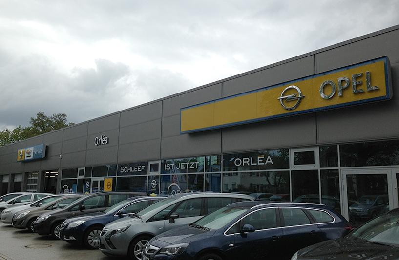 Opel Orléa (Schleef) – Außenansicht
