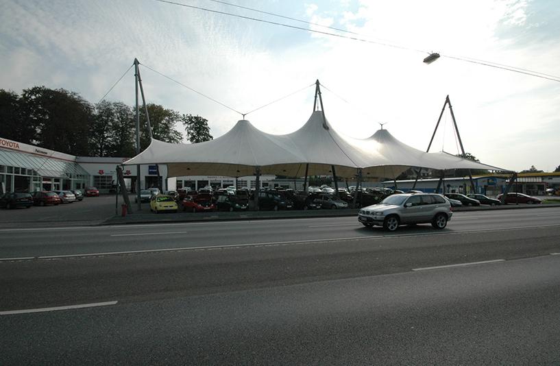 Autohaus Peitzmeyer – Außenansicht