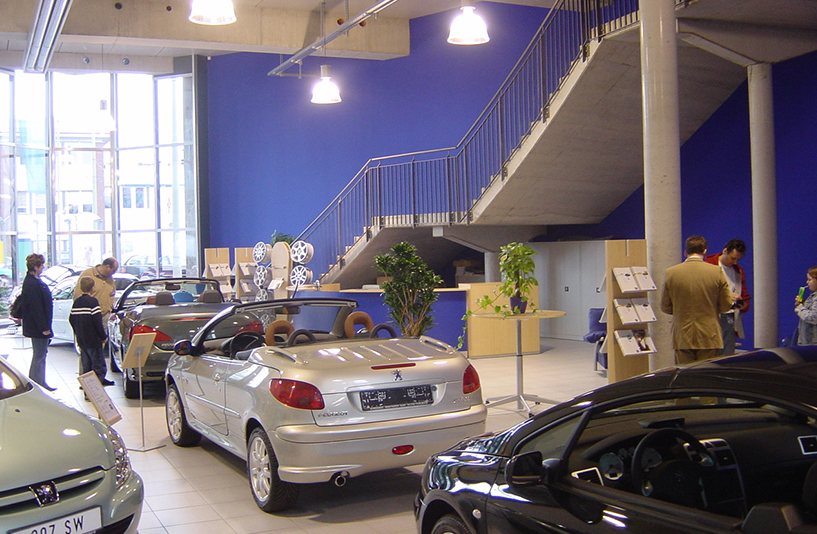 Peugeot Main/Taunus – Showroom