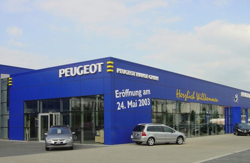 Peugeot Lokstedt – Außenansicht