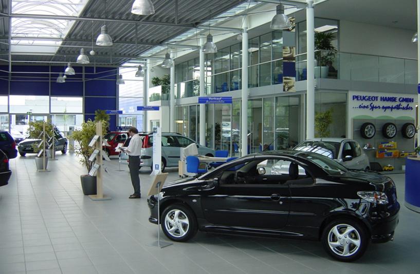 Peugeot Lokstedt – Showroom