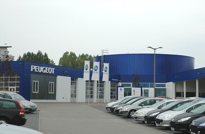 Peugeot Marzahn – Außenansicht