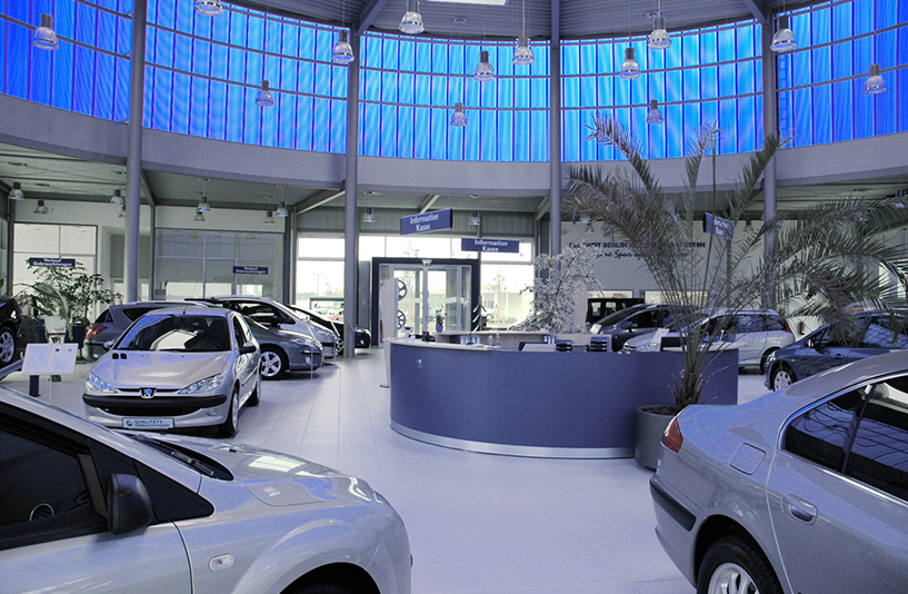 Peugeot Marzahn – Showroom