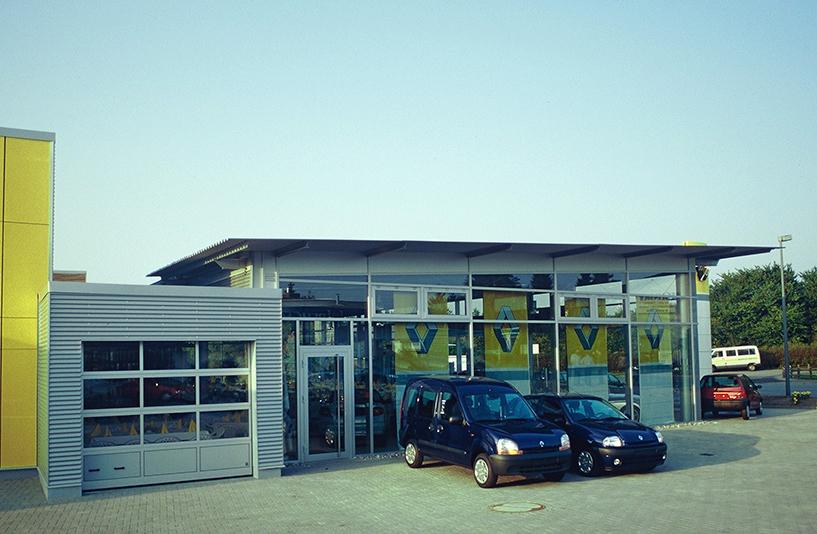 Renault Kramer – Außenansicht