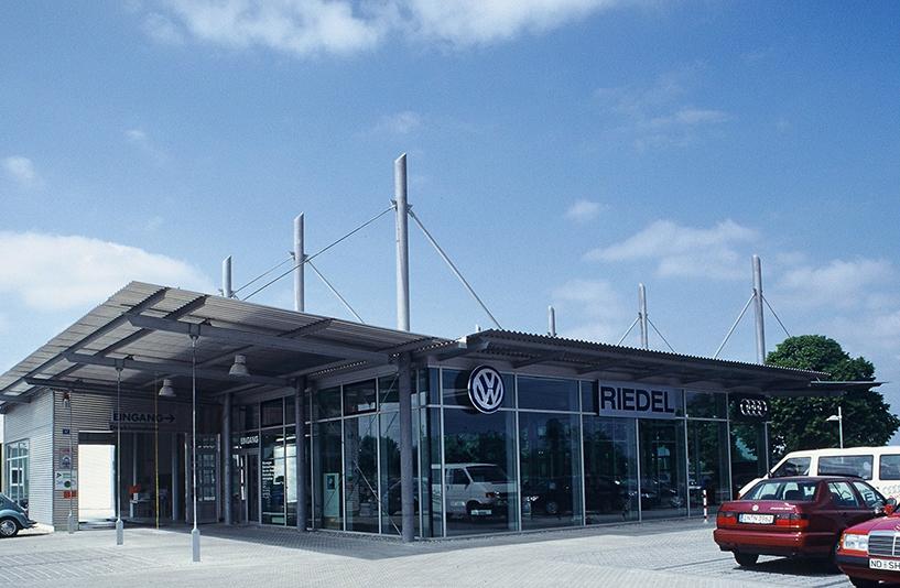 VW Riedel - Eingangsbereich