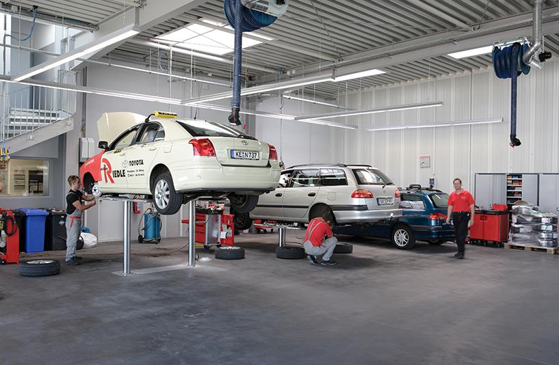 Toyota Autohaus Riedle – Werkstatt