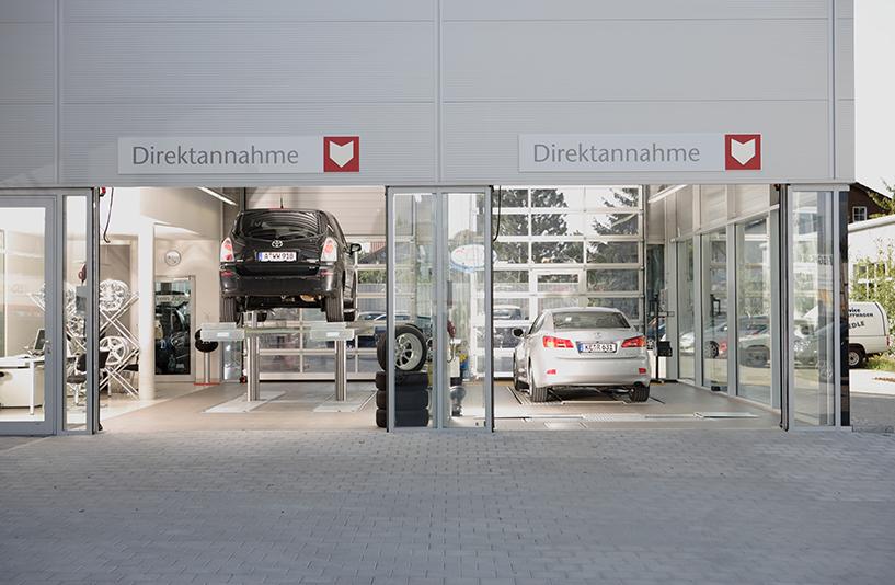 Toyota Autohaus Riedle – Direktannahmen