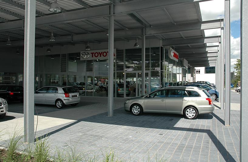 Toyota Autohaus Riedle – Außenansicht