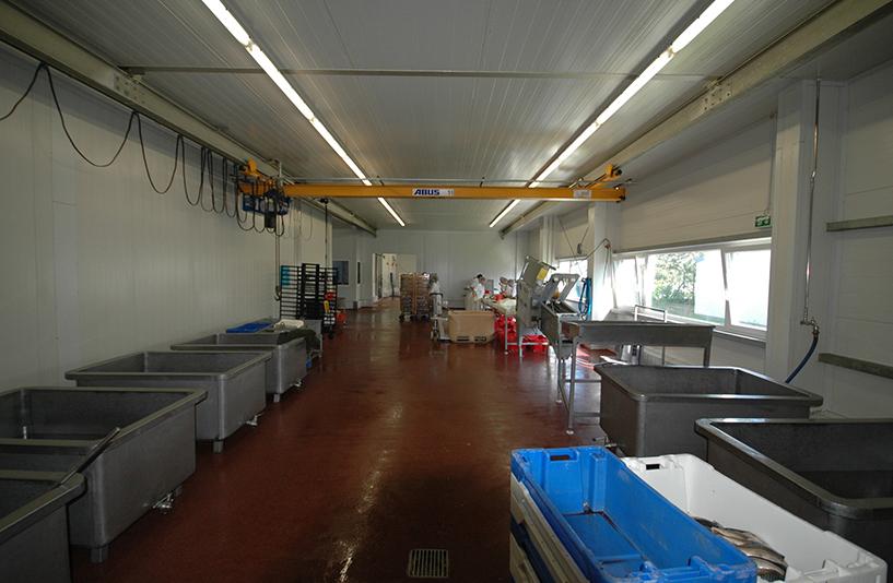 Fischräucherei Sandelmann – Produktion