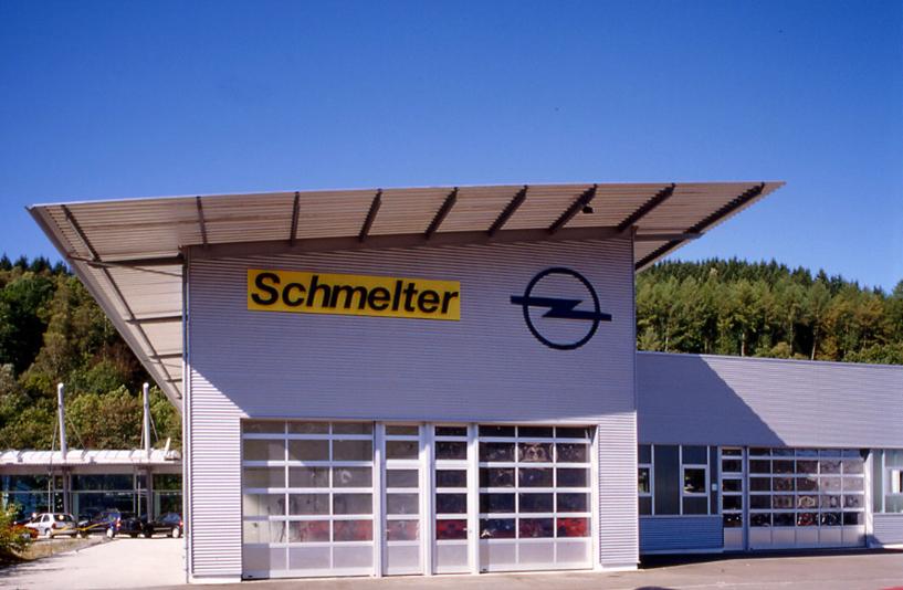 Opel Schmelter – Außenansicht