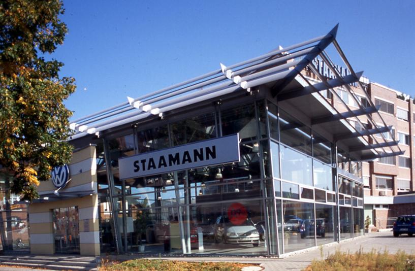 Autohaus Staamann – Außenansicht Volkswagen