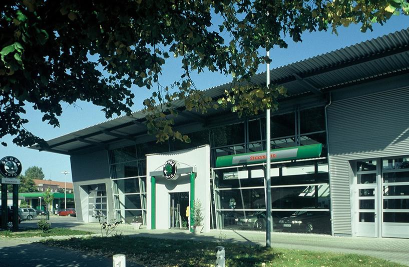Autohaus Staamann – Außenansicht ŠKODA