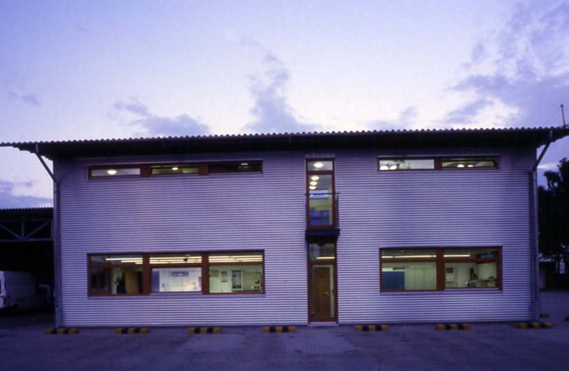 Stadtwerke Achim (Werkstatt) – Außenansicht