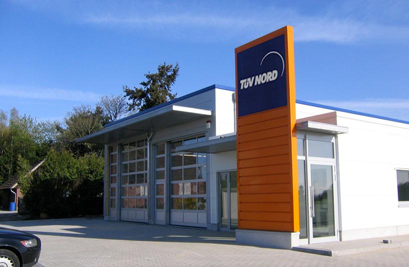 TÜV Nord in Steinfurt – Außenansicht