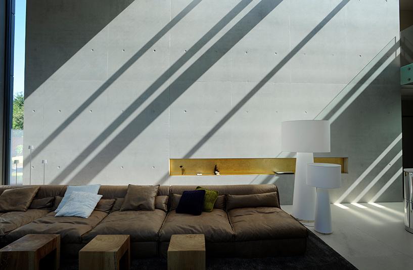Villa K – Wohnbereich mit natürlichem Lichtspiel