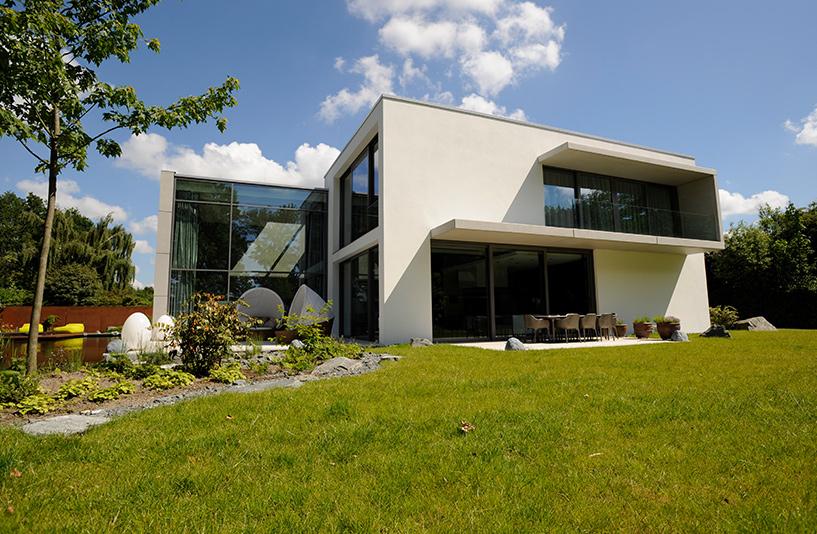Villa K in Hamburg – Außenansicht