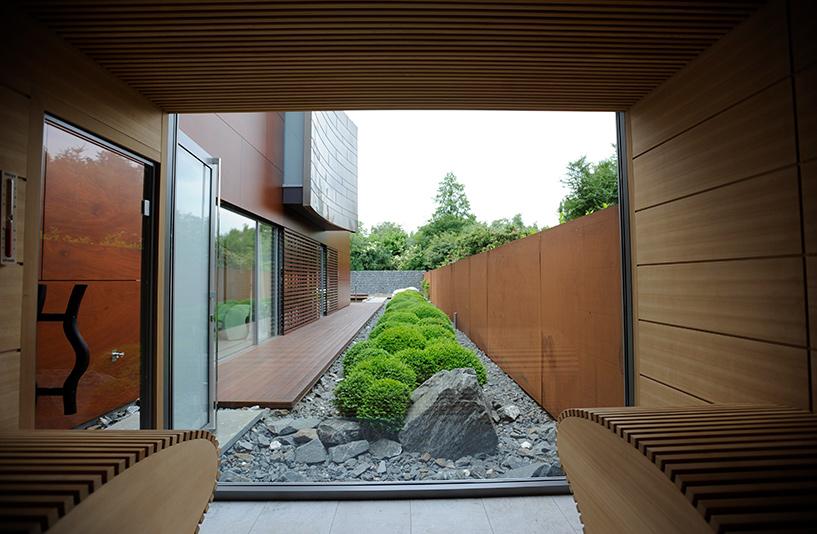 Villa K – Blick aus der Sauna