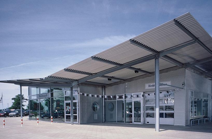 Autohaus Weihrauch  – Außenansicht