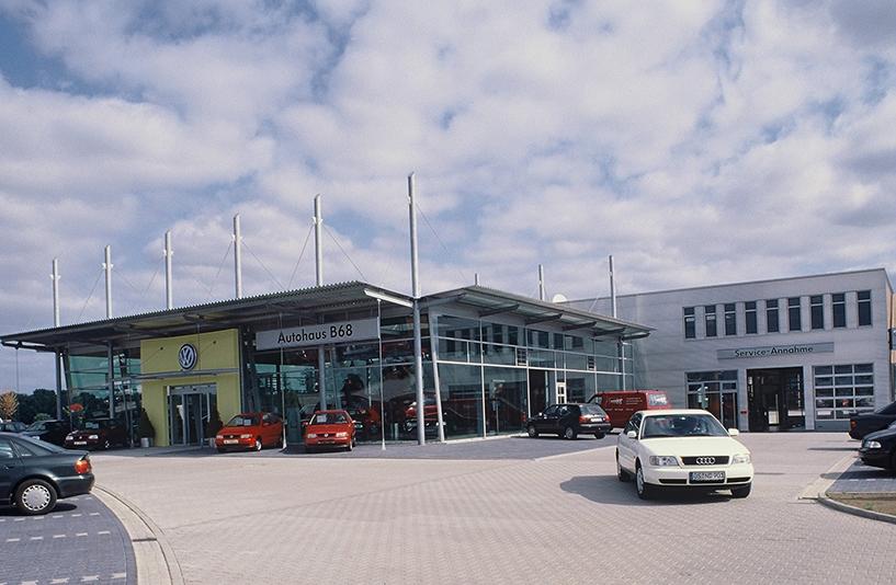 VW B68 - Gebäudeansicht