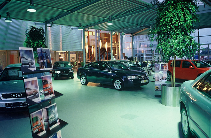 VW B68 - Beleuchtung der Innenansicht