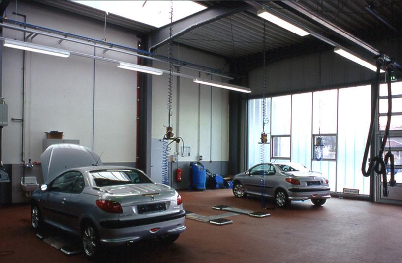 Peugeot Berlin Weissensee – Werkstatt