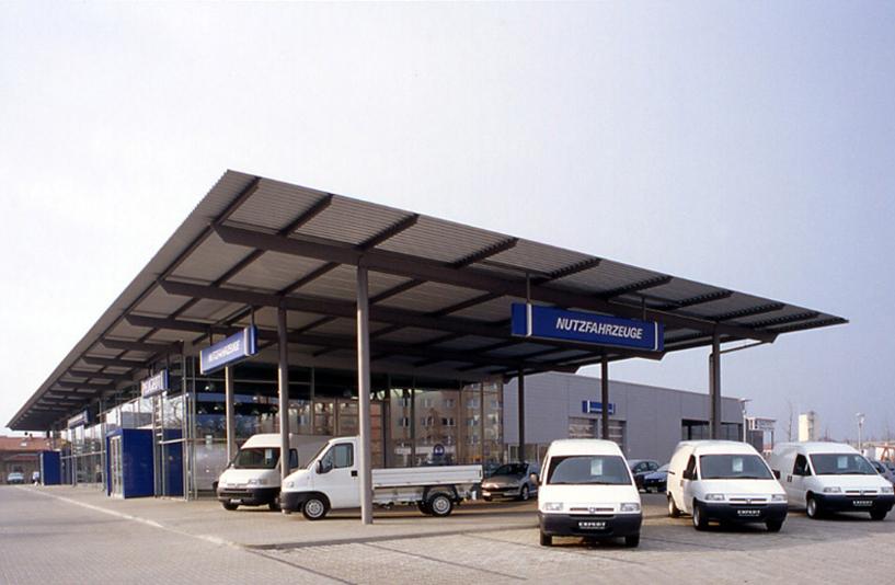 Peugeot Berlin Weissensee – Außenansicht