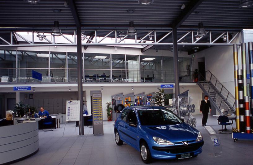 Peugeot Berlin Weissensee – Empfangsbereich