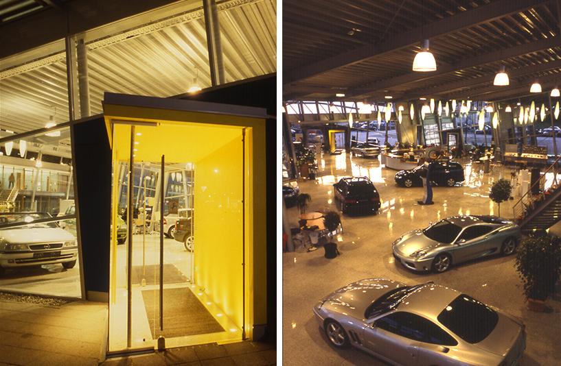 Autohaus Wendelstein – Eingang   Showroom