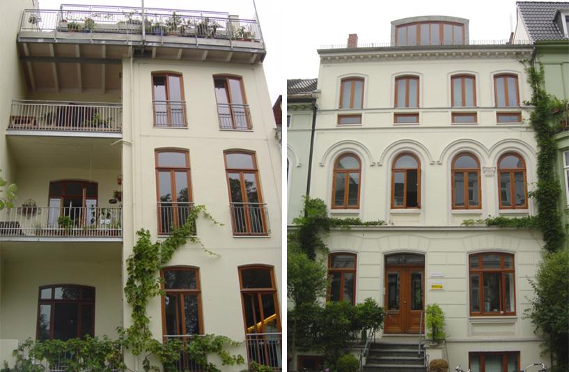 Wohnhaus Kreftingstraße 2 – Außenansicht