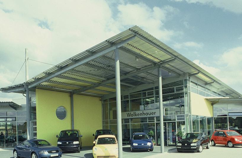 Autohaus Wolkenhauer  – Außenansicht