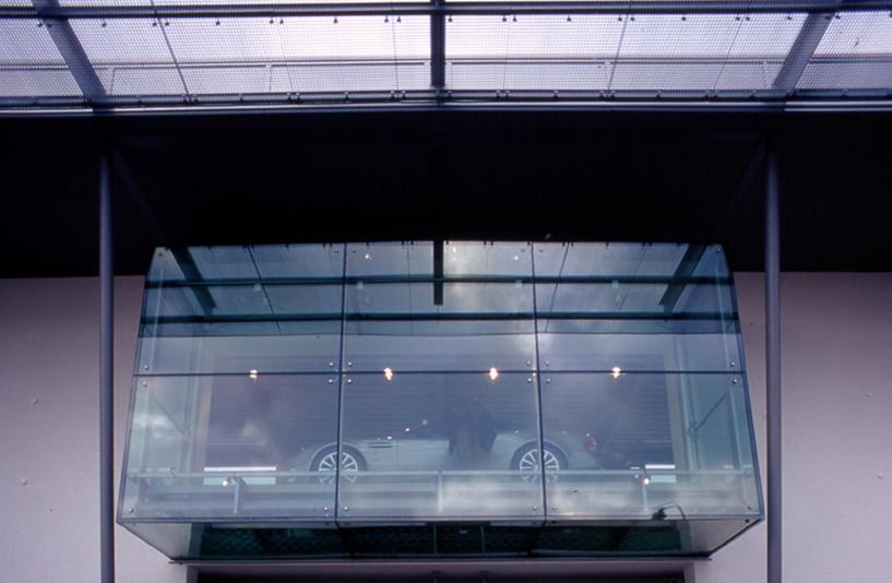 Autohaus Kreuzer - Glasbalkon