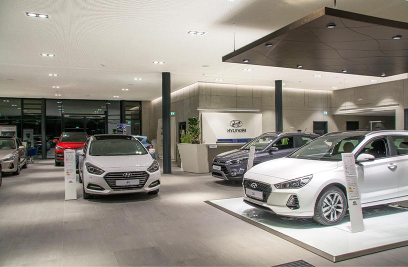Autohaus Müller Friedrichshafen - Showroom