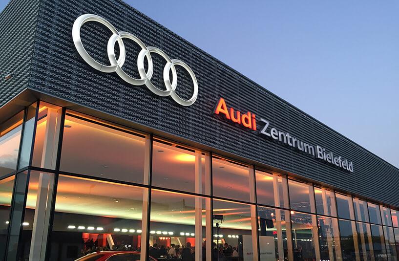 Audi Zentrum Bielefeld - Detailbild